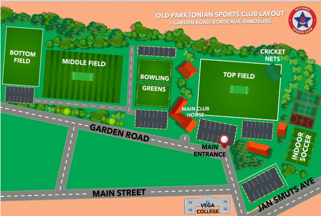 Old Parks Fields Layout