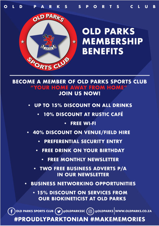Old Parks Members Benefits