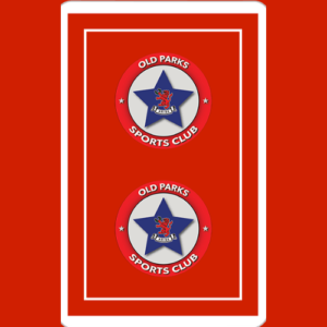 Square Card Red