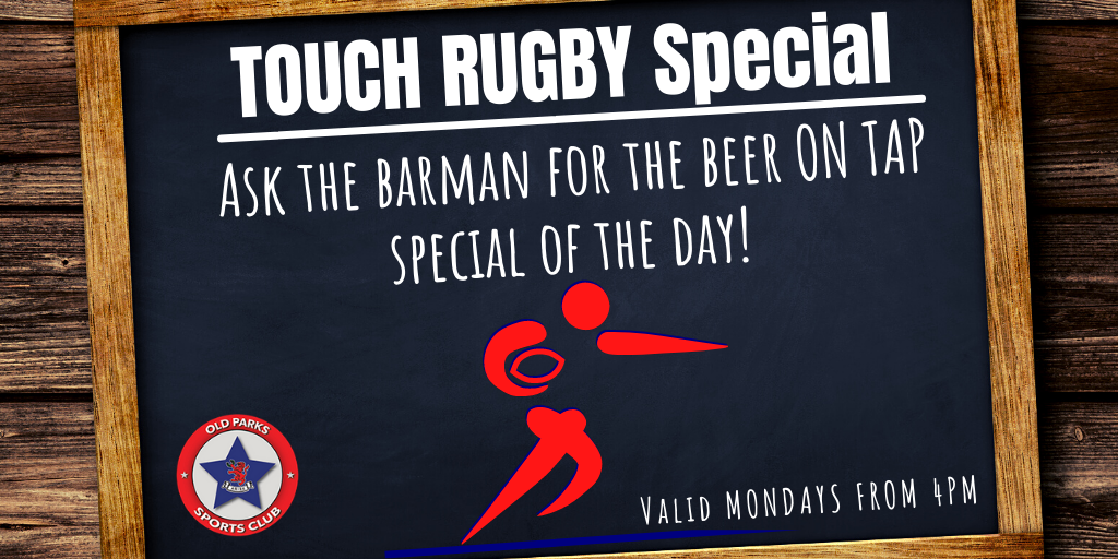 OP Touch Rugby Special