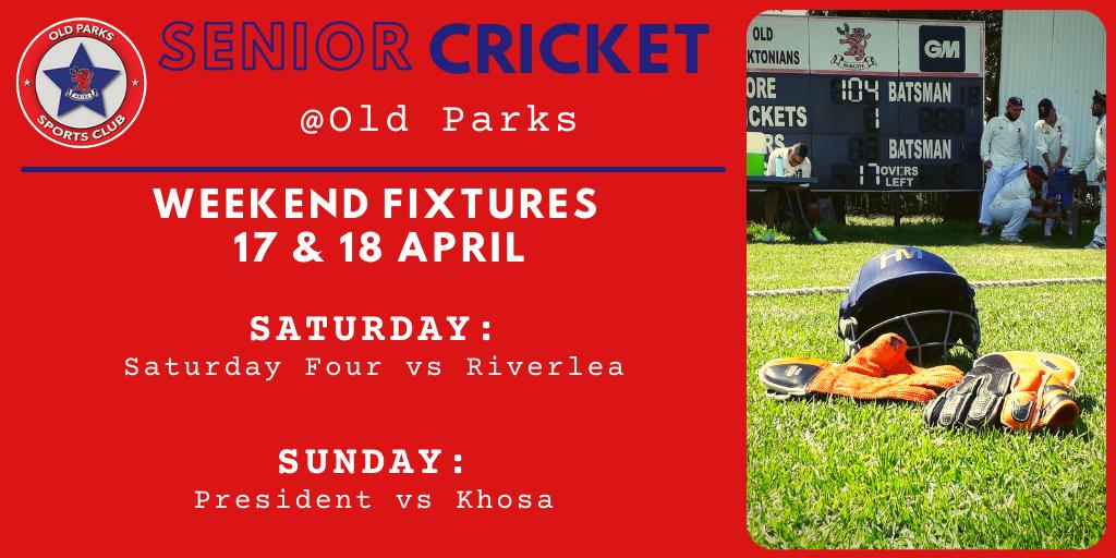 Old Parks Cricket Fixtures