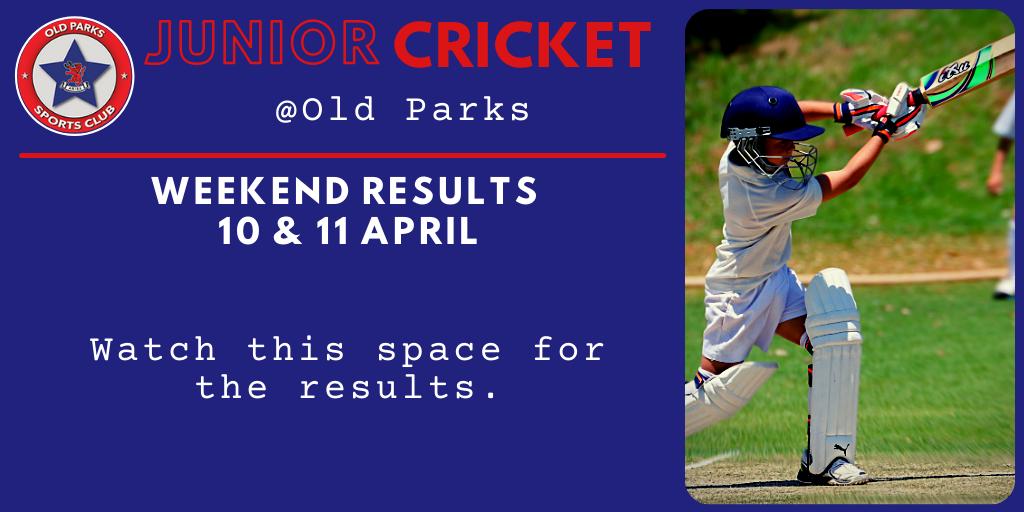 Old Parks J Cricket Results