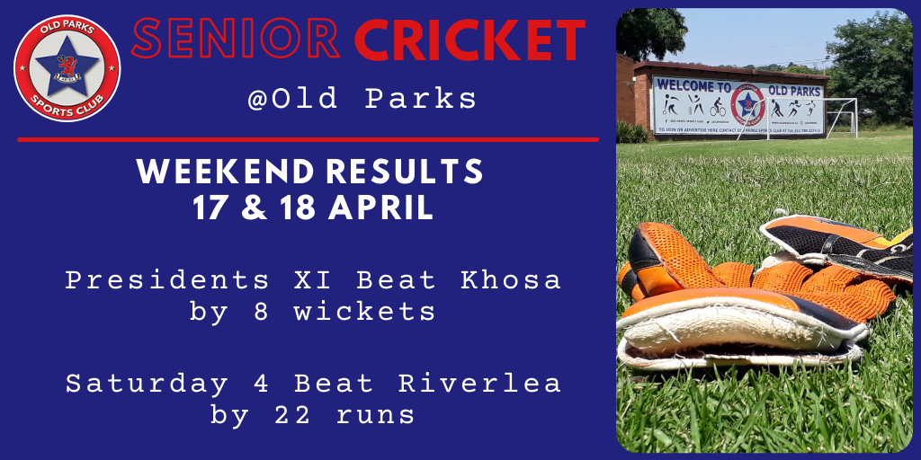 Old Parks S Cricket Results 1