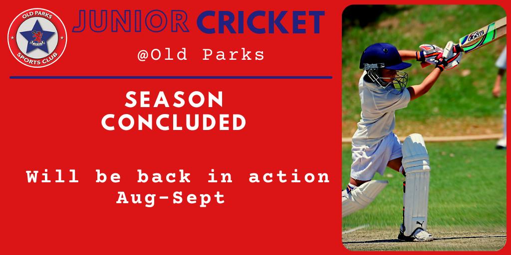 Old Parks J Cricket Fixtures