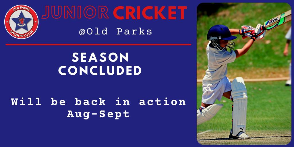 Old Parks J Cricket Results 1