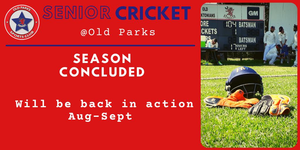 Old Parks S Cricket Fixtures 1
