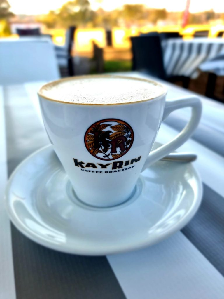 Tipu Coffee at Old Parks Sports Club